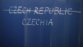"""Jednoslovný název """"Czechia"""" je překladem slova Česko."""