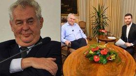 Už pošesté rozhovor s Milošem Zemanem v Lánech! Přečtěte si pět jeho hlášek, které obletěly svět!