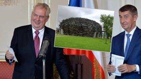 Miloš Zeman promluvil o Babišově Čapím hnízdě.