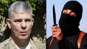 Americký plukovní Steve Warren odhalil detaily smrti obávaného džihádisty Johna.