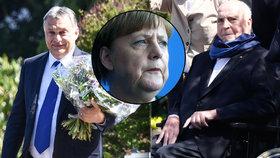 Viktor Orbán navštívil Helmuta Kohla: Spolu proti azylové politice Merkelové?