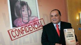 Goncalo Amaral se svou skandální knihou o zmizení Maddie.