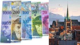 Vůbec na nejvyšší ceny by se Češi měli připravit ve Švýcarsku.