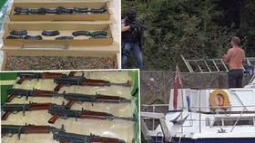 Policisté zadrželi pašeráky přímo při vylodění v britském přístavu.
