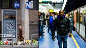Zde vraždil islamista: V Bruselu je opět otevřena stanice metra