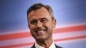 Norbert Hofer coby prezidentský kandidát rakouských Svobodných (FPÖ)