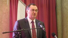 Boris Šťastný na semináři k 25. výročí od založení ODS