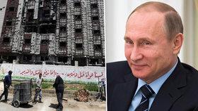 Odměna za podporu Asada? Rusko a Sýrie podepsaly miliardový kontrakt.