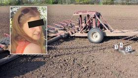 Marcela B. podle policie zavraždila své dítě a pohodila ho v poli.