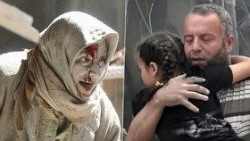 Nálety na syrskou nemocnici si vyžádaly desítky mrtvých.
