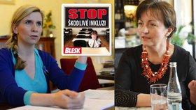 Poslankyně za TOP 09 Anna Putnová je stranickou odbornicí na školství. S inkluzí souhlasí, odmítá ale direktivní nařizování.