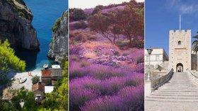 Chorvatské ostrovy oplývají nebeskou krásou.