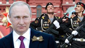 Rusko slavilo vítězství nad fašismem: Putin varoval před dvojitými standardy