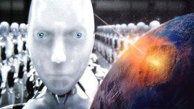 Jak přežít konec světa? Podle vědců se nejspíš budeme muset nahrát do strojů.