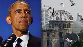 Obama navštíví Hirošimu: Jako první prezident USA od války