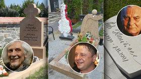 Zvláštní a originální hroby slavných