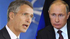 NATO ohrožuje Rusko: Musíme odstranit hrozby, říká Putin.