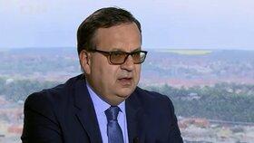 Kvůli tisícům pro horníky z OKD se v ČT střetli ministr Mládek (ČSSD) a europoslanec Niedermayer (TOP 09).