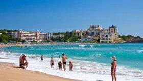 Pláž v Djuni u Sozopole