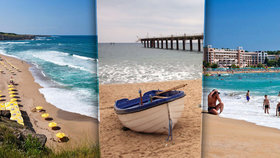 Nejkrásnější pláže v Bulharsku