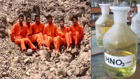 """ISIS popravil 25 """"špionů"""": Rozpustil je v kyselině."""