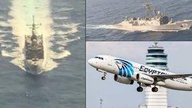 Egyptská armáda již objevila trosky zříceného letu MS804.