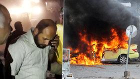 Krvavé pondělí na Blízkém Východě: Bomby i sebevražední atentátníci zabili stovky lidí