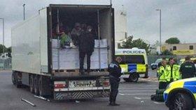 Česká policie obvinila muže, který pašoval uprchlíky do Německa (ilustrační foto).