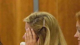 Kukučová se u soudu zhroutila.