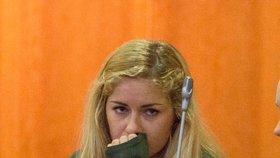 Mária Kukučová u soudu neustála pohled na mrtvolu expřítele a rozplakala se.