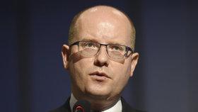 Premiér Bohuslav Sobotka (ČSSD) chce, aby Bezpečnostní informační službu vedl Michal Koudelka