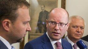 Premiér Sobotka svůj post zřejmě neobhájí, po volbách chce z vrcholné politiky odejít.