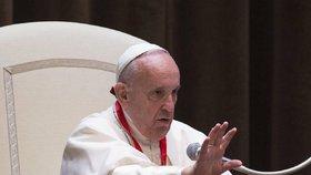 Papež František si myslí, že by církev měla požádat homosexuály o odpuštění.