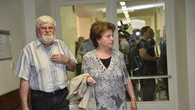 Rodiče Petra Kramného u odvolacího soudu