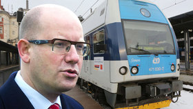 Výstavba železnice Praha–Drážďany by mohla začít v roce 2035 – ilustrační foto.