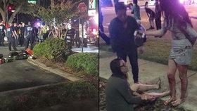 Kamera zachytila masakr ve floridském klubu Pulse!