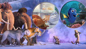 Letní animáky se blíží aneb když se hledá Dory vDobě ledové a odhalí Tajný život mazlíčků