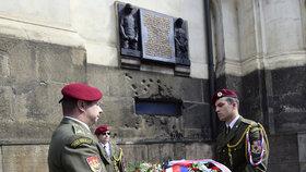 Pietní akt v Praze (18. 6. 2016) u chrámu Cyrila a Metoděje připomněl hrdinství parašutistů, kteří zaútočili na Heydricha. Nově má být z tohoto dne významný den.