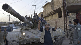 Irácká armáda dobyla zpět Fallúdžu! Islamisté byli poraženi.