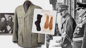 Kontroverzní aukce osobních věcí nacistů: Hitlerovy fusekle za půl mega, Göringovy spoďáry za 81 tisíc!
