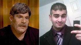 Údajný milenec střelce z Orlanda vystoupil v masce v televizi.