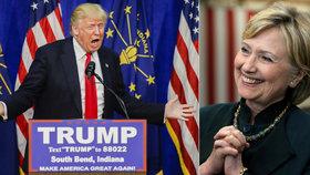V souboji o prezidentský post se utká Clintonová s magnátem Donaldem Trumpem.