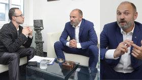 Bývalý ministr vnitra se dnes věnuje advokacii. Při rozhovoru s redaktorem Blesku se pochlubil svým projektem Czech POINT.