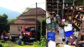 Sběratel na Brněnsku nashromáždil 8 tun radioaktivních chemikálií a výbušnin.