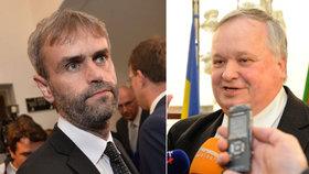 Změny v policii: Šéf ÚOOZ Robert Šlachta odešel do civilu, o odchod požádal i šéf BIS Jiří Lang.
