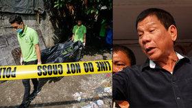 Popravy drogových dealerů na Filipínách: Nový prezident se chopil úřadu a začalo zabíjení.