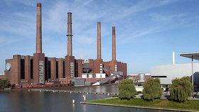 Největší evropská automobilová továrna v německém Wolfburgu