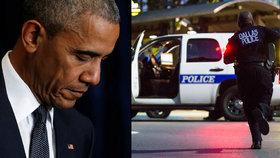 Americký prezident Barack Obama označil útok na policisty v Dallasu za brutální a ohavný.