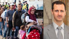 Evropa čelí terorismu a vlně uprchlíků: Politici neslouží voličům, vzkazuje Asad EU