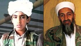 Syn Usámy bin Ládina vyhrožuje: Smrt otce pomstím.